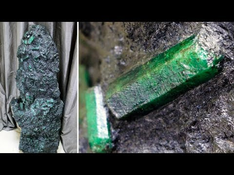 Man That Dug Up An 800-Pound Emerald Had To Go Underground Out Of Fear For His Life