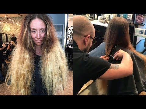 This Bride-To-Be Hadn't Cut Her Hair In 30 Years, But A Wedding Makeover Totally Transformed Her