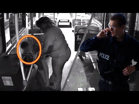 This Bus Driver Spotted A Boy Freezing In The Street. Then Her Actions Were Caught On Video