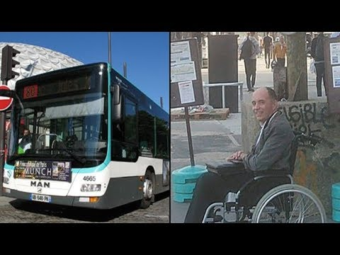 When passengers refused to make room for wheelchair, the bus driver dealt out the perfect punishm