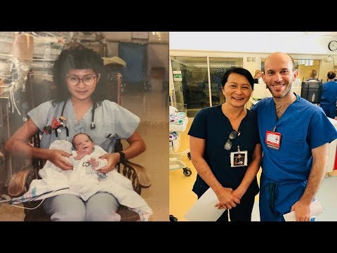 28 Years After Caring For A Tiny Premature Baby A Nurse Discovered A Heartwarming Coincidence
