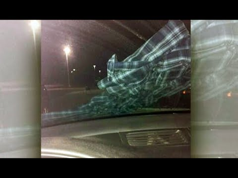 If you find a shirt 'intentionally' tied to your car's windshield wiper– don't get out to remove it