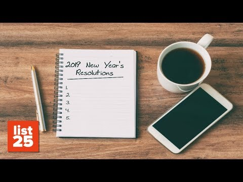 Strangest New Year's Resolutions People Actually Made