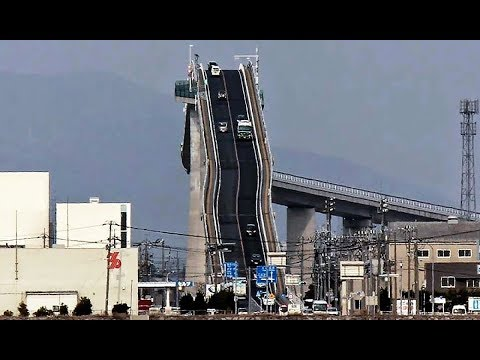 This Bridge In Japan Is Absolutely Terrifying And Yet People Drive Over It Every Day