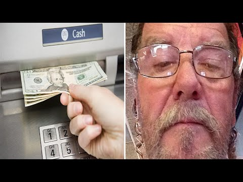 Man Goes To Withdraw Money From The ATM And Runs Back Into The Bank When He Makes A Discovery