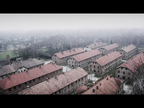 A Drone Flies Over Auschwitz Death Camp What Is Captures Gives Me The Chills