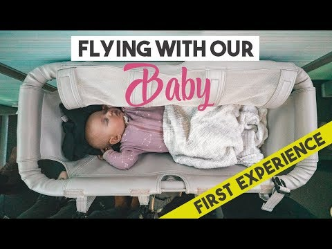 Flying with a 4 month old BABY | Her first flight