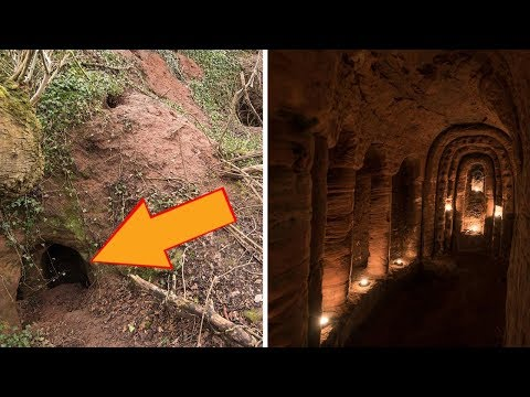 Mysterious Rabbit Hole Leads To A 700 Year Old Secret Temple Built By Knights Templar