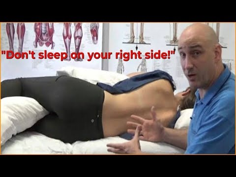 Why You Should Never Sleep On Your Right Side