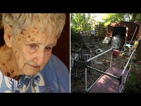A 94-Year-Old Lady Gets a $2500 Fine for Her Trash Filled Yard Then She Makes a Desperate Phone Call