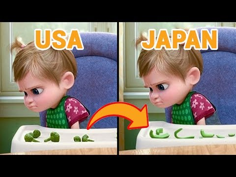 Famous Cartoons That Were Changed In Other Countries