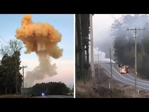 Hero Truck Driver Takes Burning Truck to a Remote Area Before It Explodes Killing Him