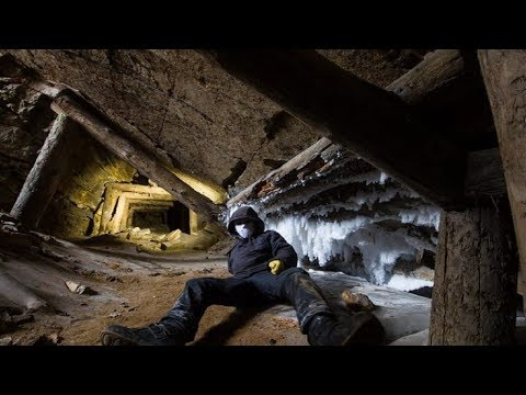 Two Men Exploring an Abandoned Old Mine Uncover a Wild Scene That People Need to See