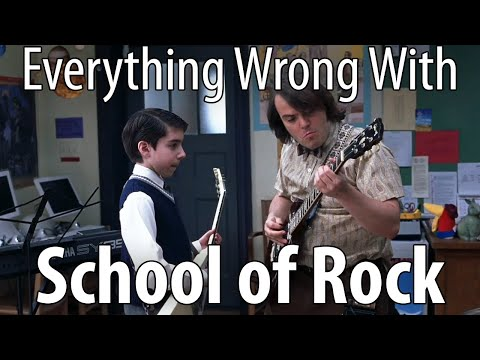 Everything Wrong With School Of Rock In 16 Minutes Or Less.