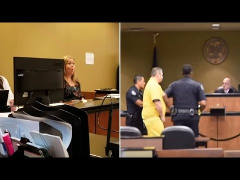 Probation Officer Gets Shock of Her Life When Her Boyfriend Enters the Courtroom Handcuffed