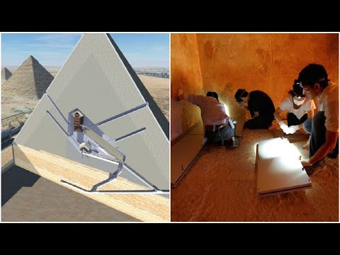 Scientists Have Just Discovered Two Secret Rooms Hidden Inside the Great Pyramid of Giza