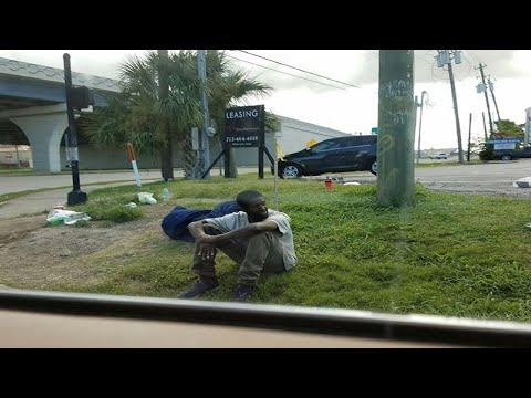 This Homeless Man Sat on a Corner for 3 Years Before a Woman Pulled up to Investigate