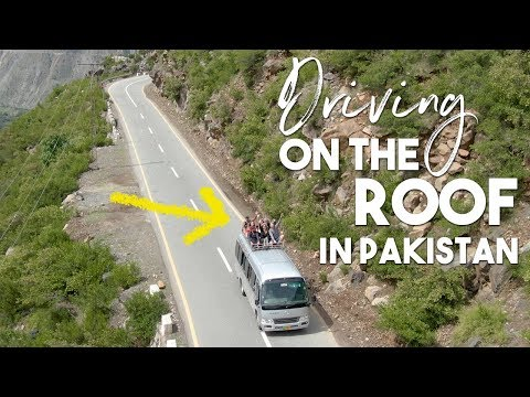 CRAZY Drive on the Roof in PAKISTAN | Besham to Chillas | EP2