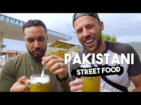 Pakistani Street Food - ISLAMABAD to BESHAM