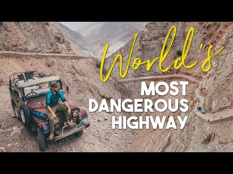 World's Most Dangerous Highway - Fairy Meadows, Pakistan