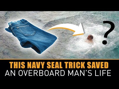 After This Man Went Overboard into the Ocean, He Avoided Drowning by Using a Navy Seals Trick