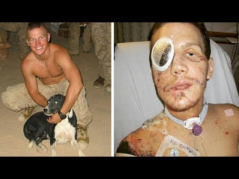 Brave Solider Jumps on Grenade to Save Fellow Marine and Is Awarded Medal of Honor