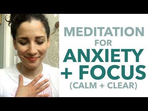 Meditation for Anxiety + Focus + Concentration - How to Meditate for Beginners - BEXLIFE