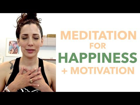 Meditation for Motivation and Happiness - How to Meditate for Beginners - BEXLIFE