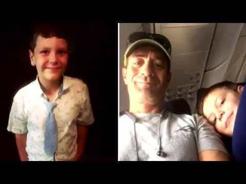 Mom Sends Autistic Son on Flight with a Note When the Flight Lands She Receives a Text from Her Son
