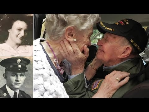 World War II Veteran Reunites with French Woman 75 Years After He First Met Her and Fell in Love