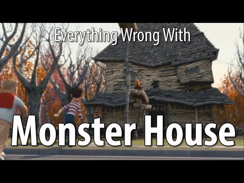 Everything Wrong With Monster House In 12 Minutes Or Less