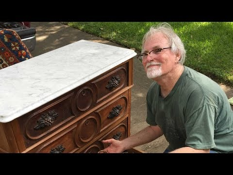 Man Hears Weird Noises in an Old Dresser He Bought at an Estate Sale, Opens the Drawer and Gasps