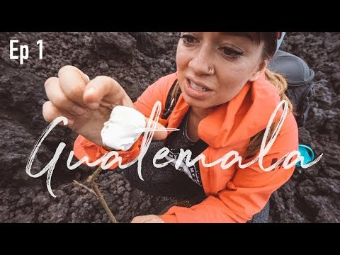 Roasting Marshmallows on an ACTIVE Volcano in Guatemala | Pt. 1
