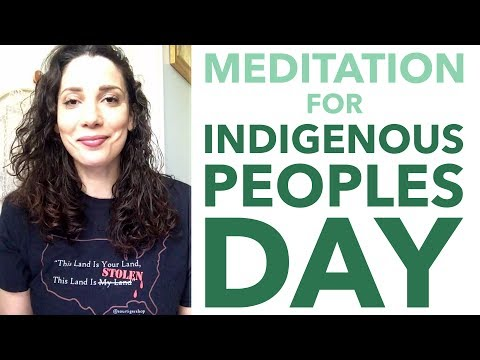 Meditation for Indigenous People's Day - How to Meditate for Beginners - BEXLIFE