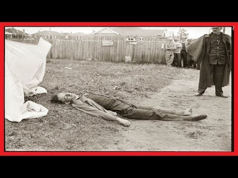 BRUTAL CRIME SCENES OF AUSTRALIA IN PHOTOS CAPTURED BY SYDNEY POLICE AS EARLY AS 1930S