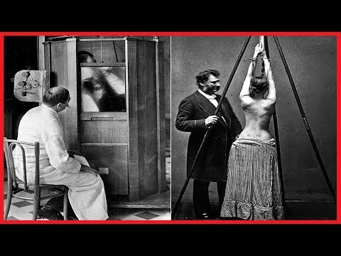 BIZARRE IMAGES OF MEDICAL TREATMENTS THROUGH HISTORY [1900-1940]