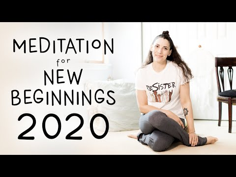 Meditation for New Beginnings 2020 - How to Meditate for Beginners - BEXLIFE