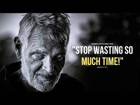 STOP PROCRASTINATING & TAKE ACTION! | POWERFUL Motivational Video Speech
