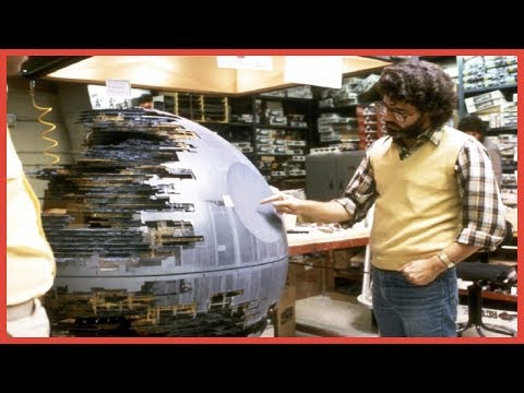 STUNNING IMAGES OF HOW STAR WARS WAS MADE